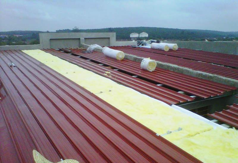 Metal Deck Sheet Roofing Metal Roof Malaysia Steel Roof Truss System Industrial Roofing Khp Roofing M Sdn Bhd Malaysia Best Roofing Company